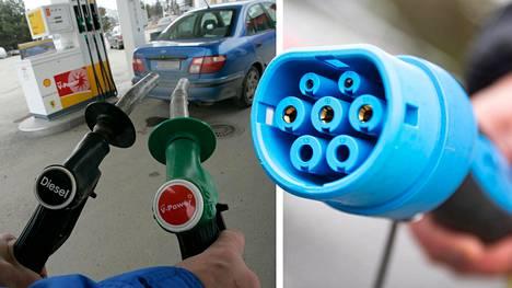 Diesel on häviäjä, kun tarkastellaan uusien autojen rekisteröintitilastoja. Myös bensiinimoottoristen autojen suosio laskee, mutta yhdistettynä sähkömoottoriin ne ovat voittajia.