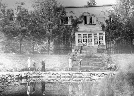 Korpilinna valmistui 1940-luvun alussa.