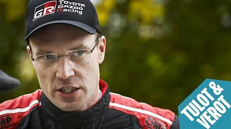 Jari-Matti Latvala sai veronpalautuksia reilut 16000 euroa.