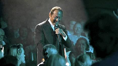 Paul Anka konsertoi Finlandia-talossa heinäkuussa 2009.