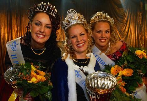 Anna Strömberg vei voiton, Piritta Hagmanin (os. Hannula) ja Suvi Hartlin tulivat perintöprinsessoiksi.