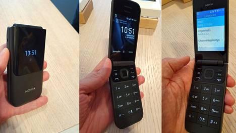 Nokia 2720 Flip on uusioversio 10 vuoden takaisesta simpukkapuhelimesta.