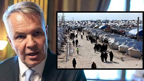 Ulkoministeri Pekka Haavisto arvioi, että kurdihallinto joutuu jossain vaiheessa etsimään jonkin pysyvämmän ratkaisun Al-Holin tilanteeseen ja päättämään, minne leirillä oleskelevat sijoitetaan tai pääsevätkö he lopulta palaamaan kotiseudulleen.
