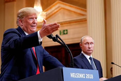 Donald Trump on päättänyt kutsua Vladimir Putinin Washingtoniin jo syksyllä.