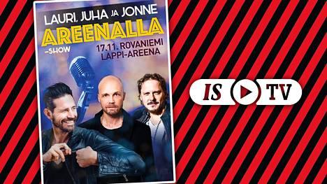 Jonne Aaron, Juha Tapio ja Lauri Tähkä nousevat samalle lavalle – katso keikka suorana ISTV:ssä!