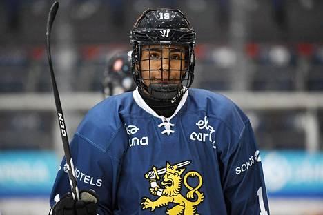 Joonas Oden on pelannut kahdeksan ottelua Suomen alle 18-vuotiaiden maajoukkueessa.