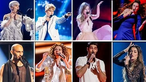 Lauantaina ratkeaa Euroviisujen voittaja!