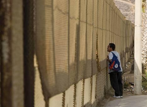 Meksikon rajalle kohoava muuri oli yksi Trumpin keskeisimmistä vaalilupauksista. Rahoitusta muurille ei kuitenkaan ole irronnut.