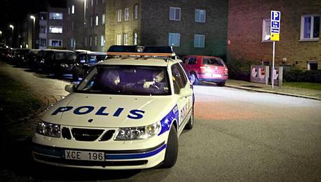 Malmössa jahdattiin sarja-ampujaa syksyllä.