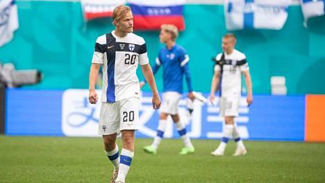 Joel Pohjanpalo on Suomen EM-joukkueen ykköstähti.