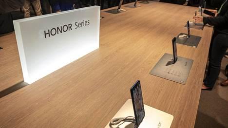 Honor esitteli puhelimiaan Barcelonan mobiilimessuilla kuun vaihteessa.