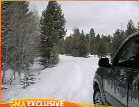 Gps neuvoi pariskunnan harhaan ja he juuttuivat erämaahan lumen keskelle kolmeksi päiväksi.