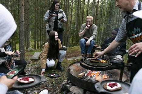 Ruisritari maistuu niin suomalaisille kuin ulkomaalaisille patikoijille.