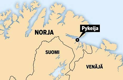 Pykeija, norjaksi Bugøynes, sijaitsee Varangerinvuonon rannalla Pohjois-Norjassa.