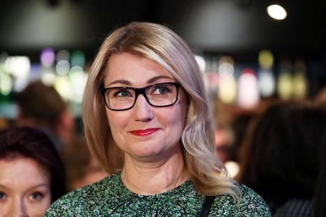 Maria Guzenina on SDP:n kansanedustaja.