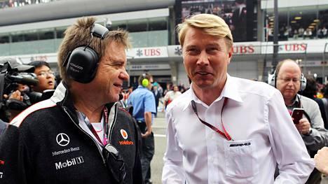Aki Hintsa oli vaikuttamassa vahvasti F1-maailmanmestari Mika Häkkisen uran taustalla.