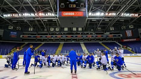Suomi pelaa B-lohkossa Victoriassa.