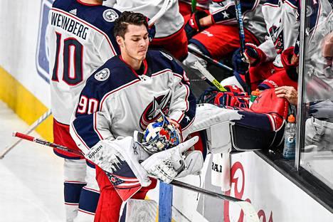 Merzlikins on ollut viime ajat NHL:n tulikuumin maalivahti.