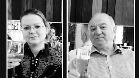 Julija ja Sergei Skripal.