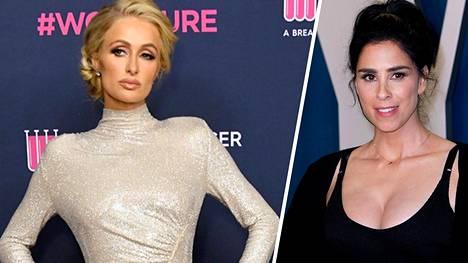 Paris Hilton ja Sarah Silverman keskustelivat asiasta podcastiensa välityksellä.
