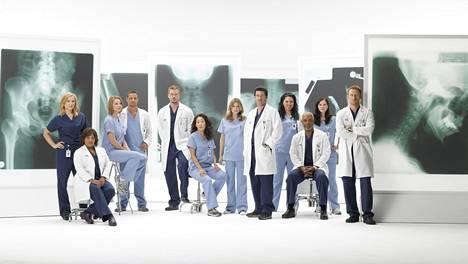 Suosittua Greyn anatomia -sarjaa on esitetty Suomessa Nelosella vuodesta 2006 alkaen.