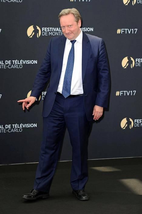 Neil Dudgeon Monte Carlon tv-festivaaleilla kesäkuussa 2017.