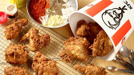 KFC:n tavoitteena oli avata 50 ravintolaa Suomeen.