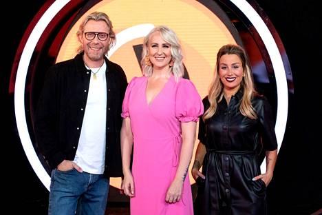 BB:tä juontavat tälläkin kaudella Kimmo Vehviläinen, Elina Kottonen sekä Alma Hätönen.