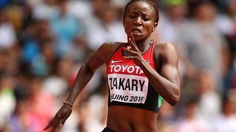 Joyce Zakari osallistui elokuussa Pekingin MM-kisoissa naisten 400 metrille.