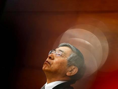 Japanin keskuspankin pääjohtaja Haruhiko Kuroda