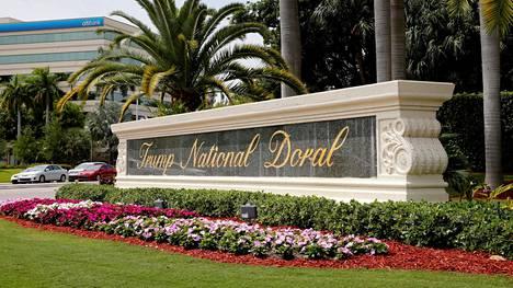Doralin golfklubi sijaitsee Floridassa.