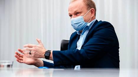 Pandemia pakotti yritykset muuttumaan, sanoo Nokian toimitusjohtaja Pekka Lundmark.