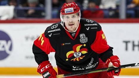 Mikko Lehtonen rikkoi viime kaudella Jokereissa puolustajien yhden kauden piste-ennätyksen.