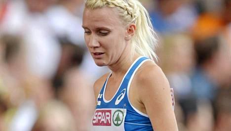 Sandra Eriksson kertoi estefinaalin jälkeen tarvitsevansa mentaalivalmentajansa apua.