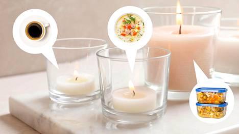 Haluaisitko päästä haistelemaan lohikeiton tuoksuista kynttilää?