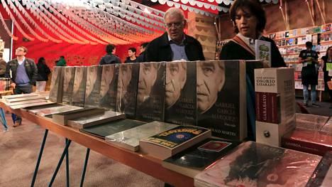 Kirjailijan omakätisesti signeeraama arvokas nide varastettiin Bogotan kansainvälisiltä kirjamessuilta viikko sitten sunnuntaina.