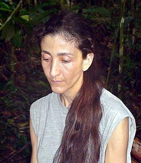 Ingrid Betancourt oli kuusi vuotta Farc-sissien panttivankina