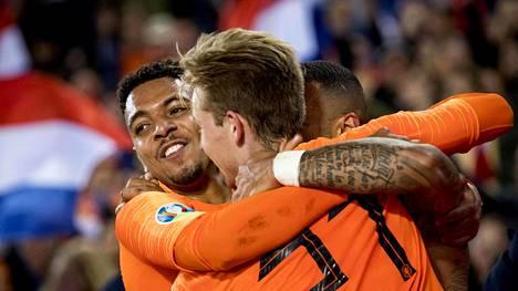Hollanti kaatoi Pohjois-Irlannin torstaina 3–1. Sen ansiosta lappilaismies voitti miljoonapotin.