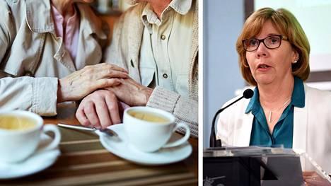 Saako käydä kahvilassa tai ravintolassa? – Siinäkin pitää käyttää tervettä järkeä. Eihän se kiellettyä ole, mutta siellä on tietysti suuremmassa vaarassa saada tartunnan, jos siellä on paljon muita ihmisiä, oikeusministeri Anna-Maja Henriksson sanoo.