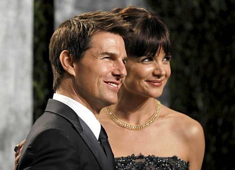 Tom Cruise erosi kolmannesta vaimostaan Katie Holmesista viime vuonna.
