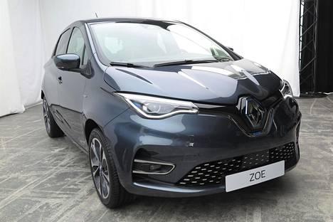 Renault Zoen hienoin versio on nykymuodin mukaisesti Launch Edition. Väri tekee autosta jopa ylellisen, vaikka pirteät sävyt pukevat mielestäni Zoea paremmin.