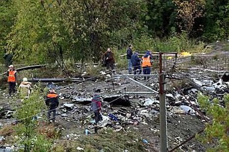 Boeing-737 syöksyi maahan Venäjällä 14. syyskuuta.