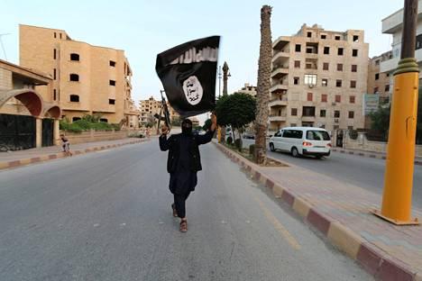 Isisin hallitsema alue on pienentynyt tänä vuonna Syyriassa ja Irakissa.