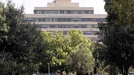 Yhdysvalloissa todettua ensimmäistä Ebola-potilasta hoidetaan dallasilaisessa sairaalassa Teksasin osavaltiossa.