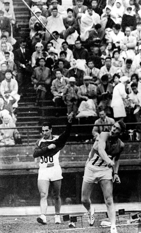 Pauli Nevala Tokion olympialaisissa 1964