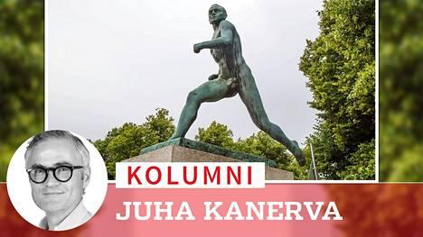 Paavo Nurmen patsas on kuvaveistäjä Wäinö Aaltosen tunnetuin urheiluaiheinen luomus.