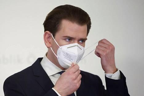 Itävallan liittokansleri Sebastian Kurz haluaa maansa varautuvan virusmuunnoksiin ajoissa.