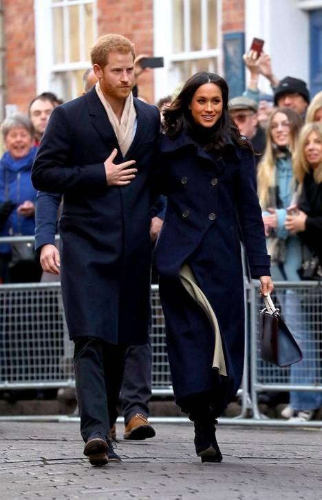Prinssi Harry ja Meghan Markle avioituvat toukokuussa.