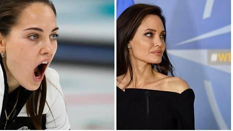 On heissä jotain samaa, Anastasiassa ja Angelinassa.