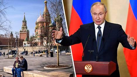 Vladimir Putin linjasi suuntaviivoja Venäjän kansakunnalle keskiviikkona pitämässään puheessa.